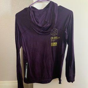 Reebok long sleeve crossfire hoodie